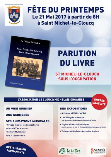 affiche A3 de saint michel le cloucq