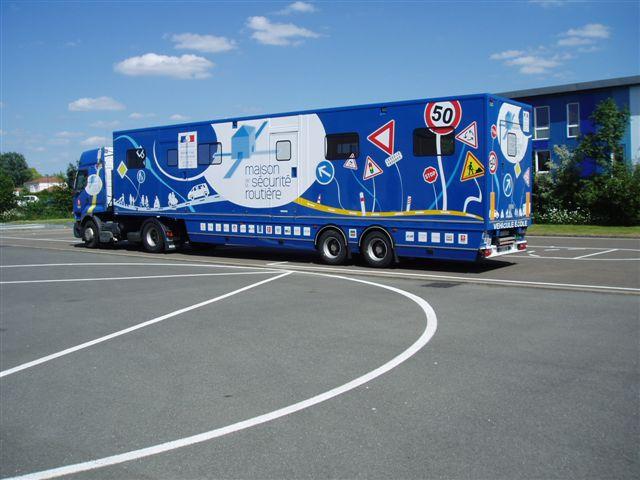 Camion de la sécurité routière