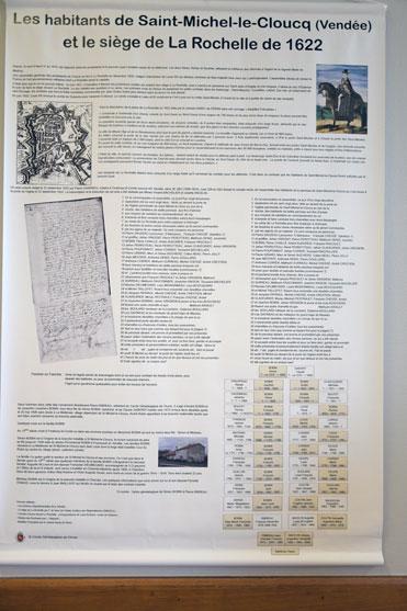 Les habitants de Saint Michel le Cloucq et le siège de la Rochelle de 1662