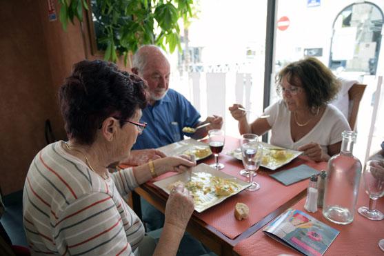 au restaurant la sicilia rochefort