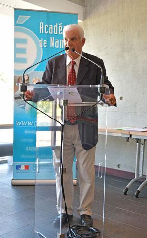 joel poiraud president du comite regional des de la medailles jeunesse des sports et de l engagement associatif