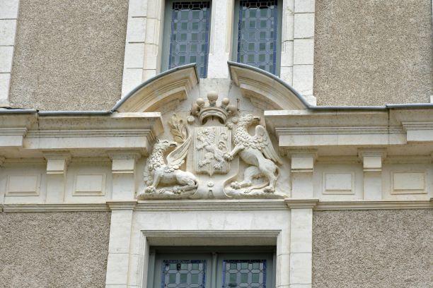 les armoiries du chateau